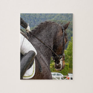 Horse with Raising Jigsaw Puzzle