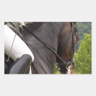 Horse with Raising Sticker