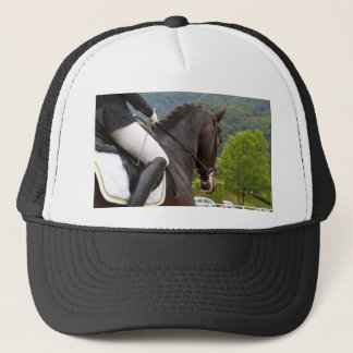 Horse with Raising Trucker Hat