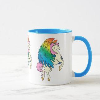Horse with the Rainbow Wings Mug