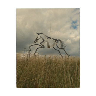 Horse Wood Wall Art