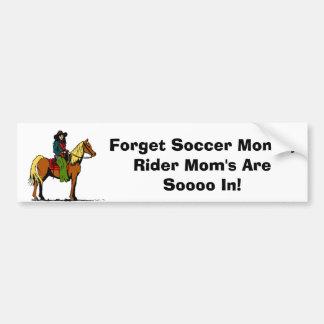 Horseback Riding Bumper Sticker