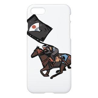 Horseback Samurai phone case