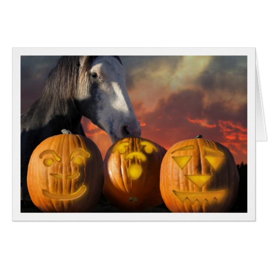 HorseHaloween Card