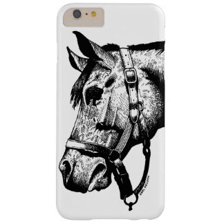 Horsehead illustration phone case