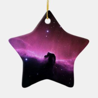 Horsehead Nebula Barnard 33 NASA Ceramic Ornament