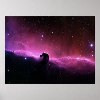 Horsehead Nebula Barnard 33 NASA Poster