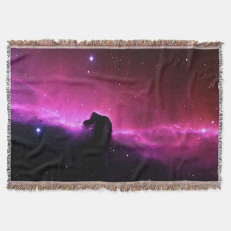 Horsehead Nebula Barnard 33 NASA Throw Blanket