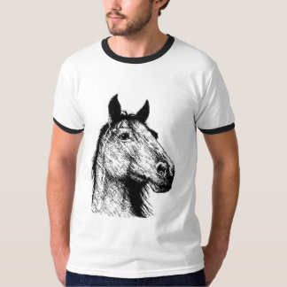 Horsehead pencil drawing T-Shirt