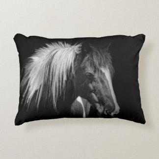 Horsehead throw pillow