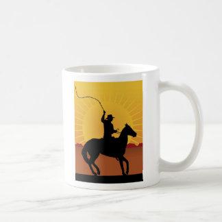 Horseman With Whip Mugs