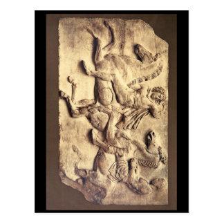 Horsemen in the Panatheaic Procession_Art of Antiq Postcard
