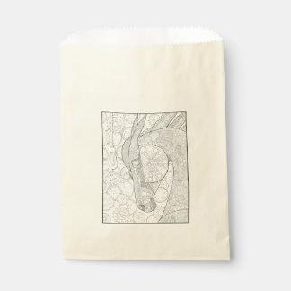 Horsepower Line Art Design Favour Bag