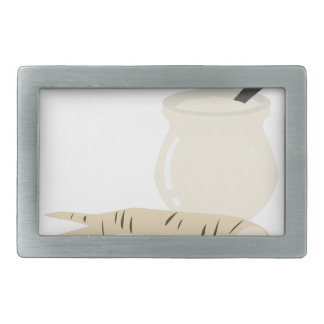 Horseradish Rectangular Belt Buckle