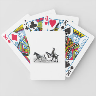 horses-1530858 bicycle playing cards