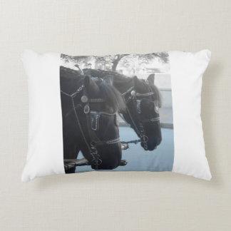 Horses Accent Pillow