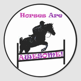 Horses Are Awesome Sticker