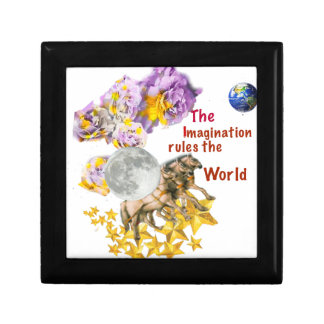 Horses are giving back the Moon to the Earth. Gift Box