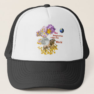 Horses are giving back the Moon to the Earth. Trucker Hat