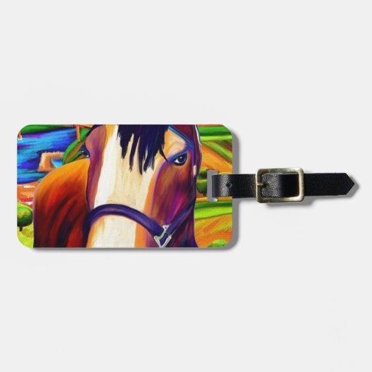 Horses Bag Tag