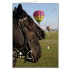 Horses & Balloons Card