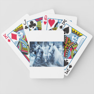 horses bicycle playing cards