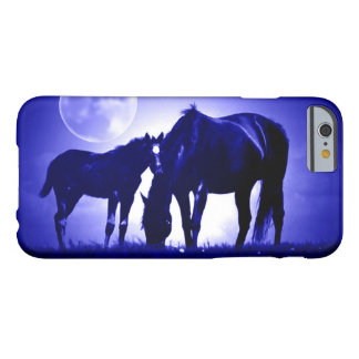 Horses & Blue Night iPhone 6 Case
