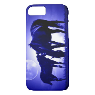 Horses & Blue Night iPhone 7 Case