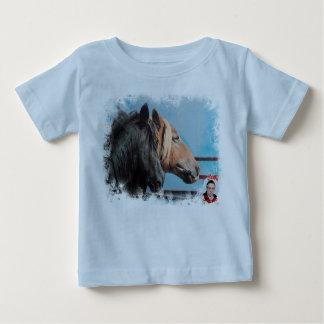 Horses/Cabalos/Horses Baby T-Shirt