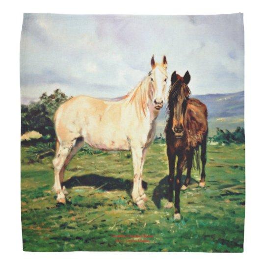 Horses/Cabalos/Horses Bandana