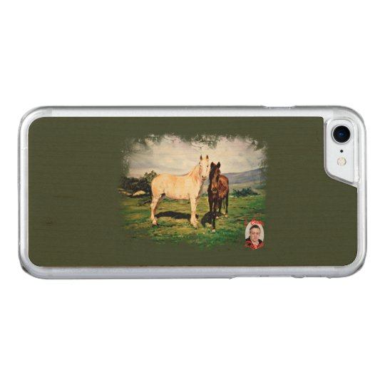 Horses/Cabalos/Horses Carved iPhone 8/7 Case