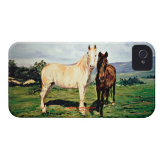 Horses/Cabalos/Horses Case-Mate iPhone 4 Case