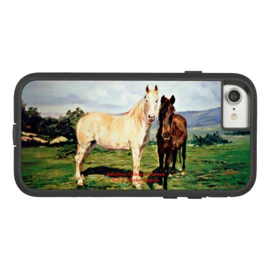 Horses/Cabalos/Horses Case-Mate Tough Extreme iPhone 8/7 Case
