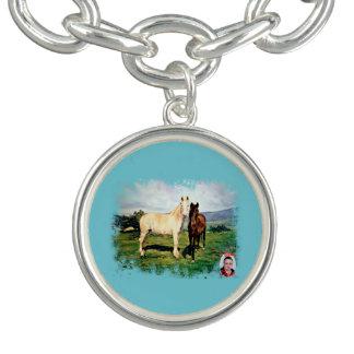 Horses/Cabalos/Horses Charm Bracelet