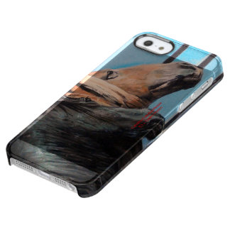 Horses/Cabalos/Horses Clear iPhone SE/5/5s Case