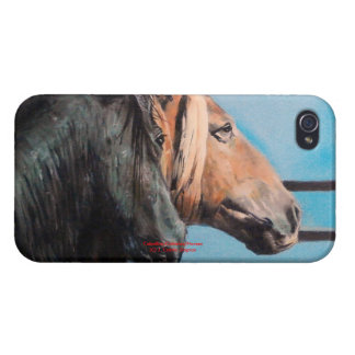 Horses/Cabalos/Horses Cover For iPhone 4