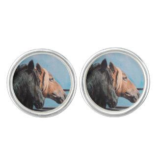 Horses/Cabalos/Horses Cufflinks