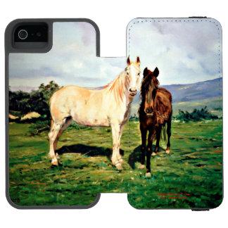 Horses/Cabalos/Horses Incipio Watson™ iPhone 5 Wallet Case