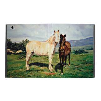 Horses/Cabalos/Horses iPad Case