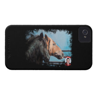 Horses/Cabalos/Horses iPhone 4 Case-Mate Cases