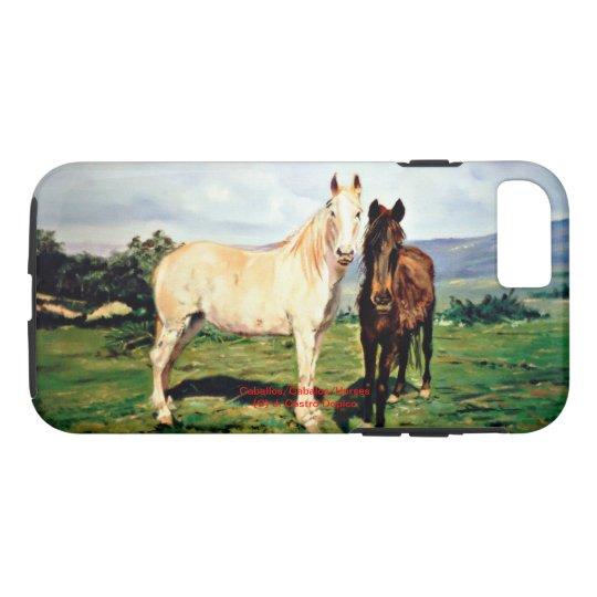 Horses/Cabalos/Horses iPhone 8/7 Case