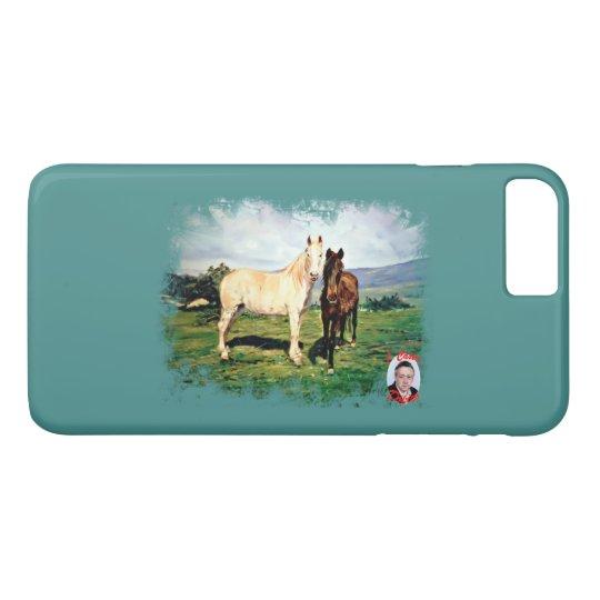 Horses/Cabalos/Horses iPhone 8 Plus/7 Plus Case