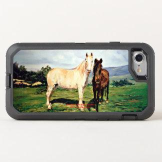 Horses/Cabalos/Horses OtterBox Defender iPhone 8/7 Case