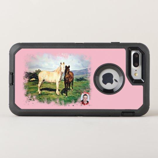 Horses/Cabalos/Horses OtterBox Defender iPhone 8 Plus/7 Plus Case