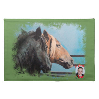 Horses/Cabalos/Horses Placemat