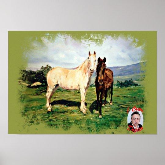 Horses/Cabalos/Horses Poster