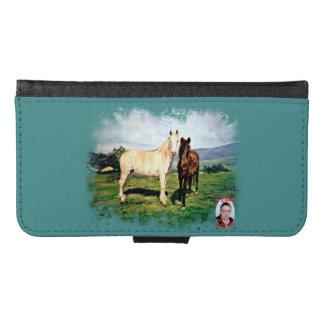 Horses/Cabalos/Horses Samsung Galaxy S6 Wallet Case