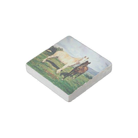 Horses/Cabalos/Horses Stone Magnets