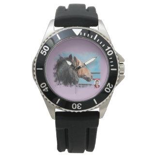 Horses/Cabalos/Horses Wristwatch