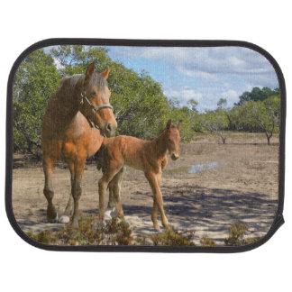 Horses Car Mat